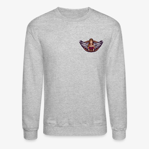 PeachQc Logo2 - Unisex Crewneck Sweatshirt