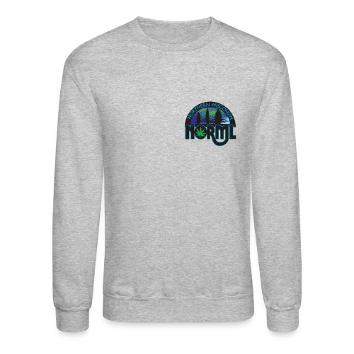 Northern Wisconsin NORML Official Logo - Unisex Crewneck Sweatshirt