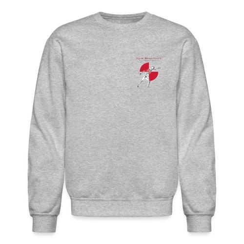 IBRC Pocket Logo with Buckle Up Brutus on Back - Unisex Crewneck Sweatshirt