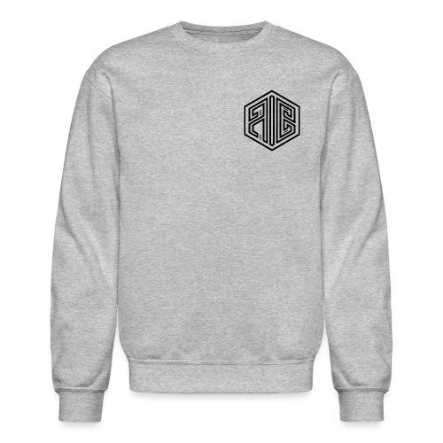 Whiteout // BLACK Brand Logo > WHITE - Unisex Crewneck Sweatshirt