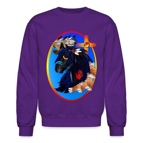 Black Stallion of Morning - Crewneck Sweatshirt