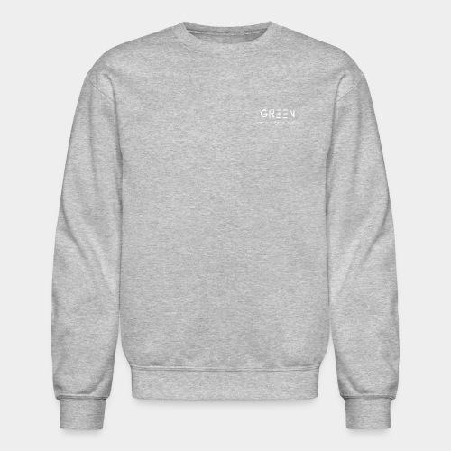Green/Gorgeous reason evolving, ending never logo - Crewneck Sweatshirt