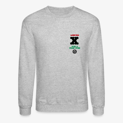 Malcolm X Was a Trap Star (RBG) - Unisex Crewneck Sweatshirt