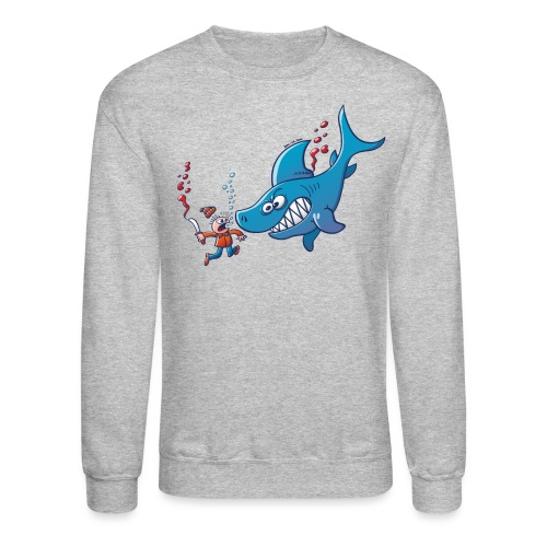 Sharks are Furious, Stop Finning! - Crewneck Sweatshirt