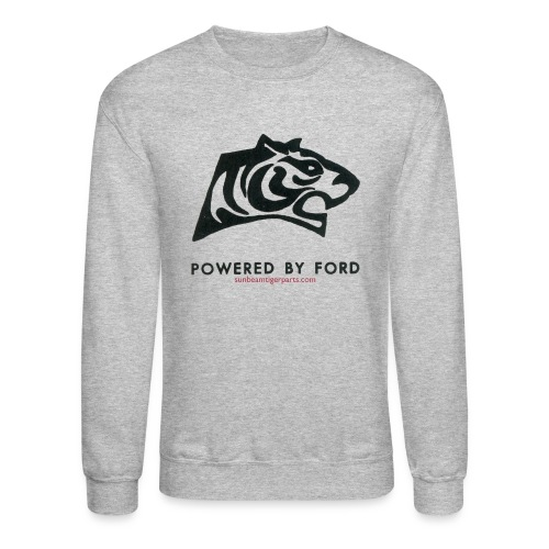 tiger head logo with web png - Unisex Crewneck Sweatshirt