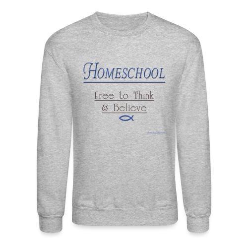 Homeschool Freedom - Crewneck Sweatshirt