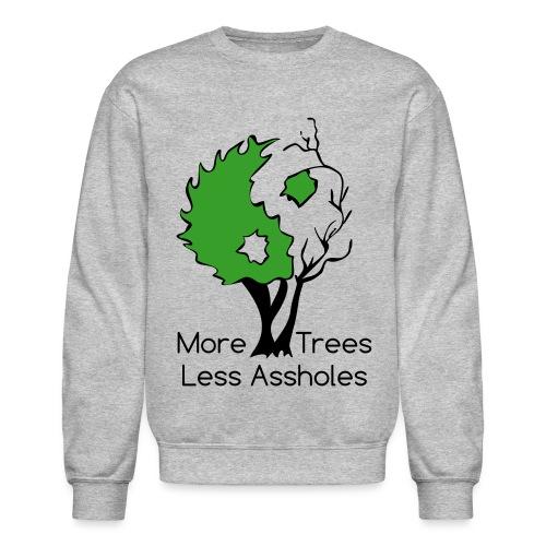 in tree col text - Crewneck Sweatshirt