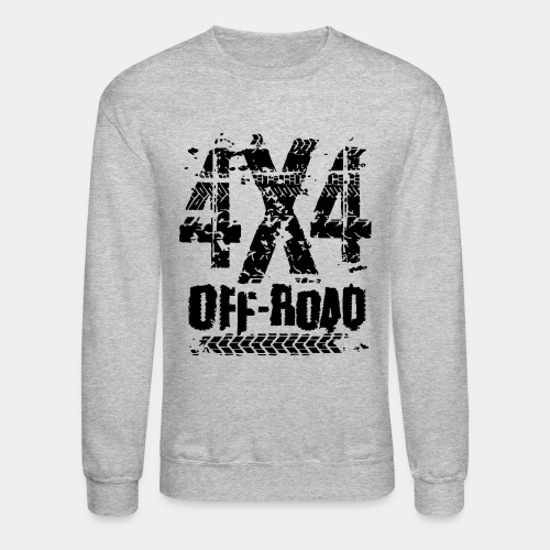 4x4 offroad adventure - Unisex Crewneck Sweatshirt