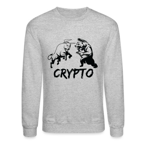CryptoBattle Black - Crewneck Sweatshirt