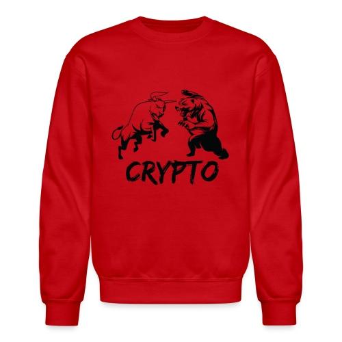 CryptoBattle Black - Crewneck Sweatshirt