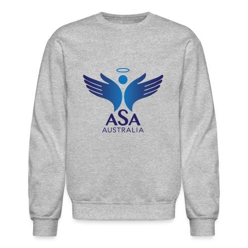 3459 Angelman Logo AUSTRALIA FA CMYK - Crewneck Sweatshirt
