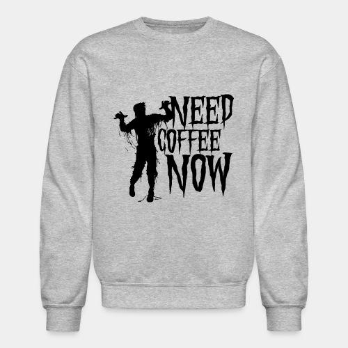 need coffee - Crewneck Sweatshirt
