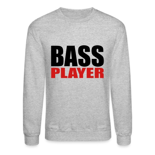 Bass Player - Unisex Crewneck Sweatshirt