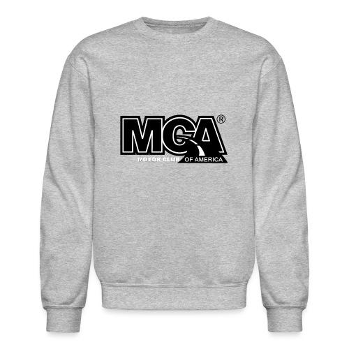 MCA Logo WBG Transparent BLACK TITLEfw fw png - Unisex Crewneck Sweatshirt