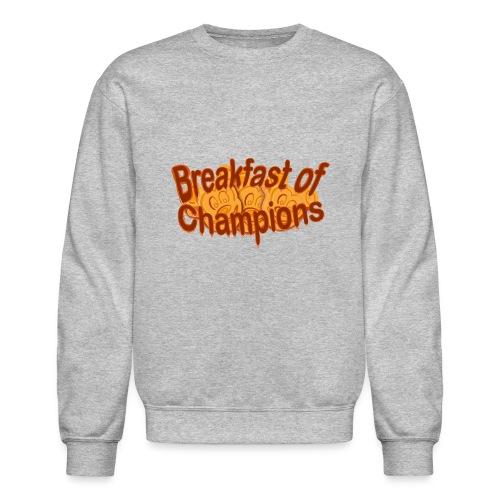 Breakfast of Champions - Unisex Crewneck Sweatshirt