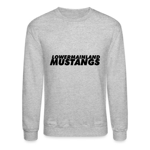 Black-Logo - Crewneck Sweatshirt