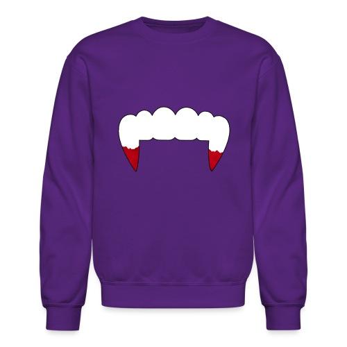 Vampire Fangs - Crewneck Sweatshirt