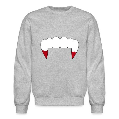 Vampire Fangs - Unisex Crewneck Sweatshirt
