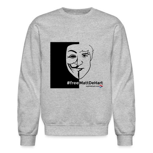 freemattdehart gif - Crewneck Sweatshirt