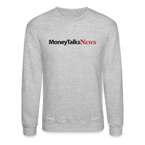 Money Talks News Logo - Unisex Crewneck Sweatshirt