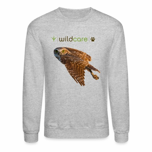 Burrowing Owl in Flight - Crewneck Sweatshirt