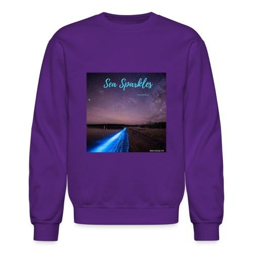 Tasmanian Sea Sparkles - Crewneck Sweatshirt