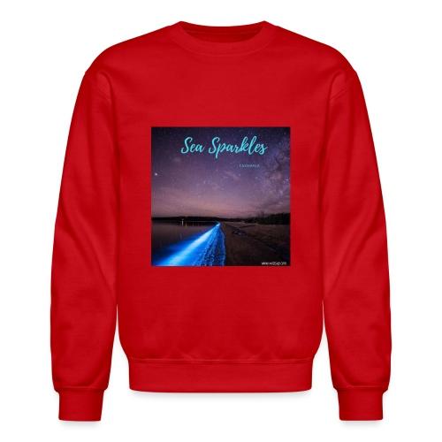 Tasmanian Sea Sparkles - Unisex Crewneck Sweatshirt