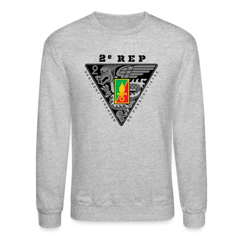 2e REP - Foreign Legion - Badge - Dark - Crewneck Sweatshirt
