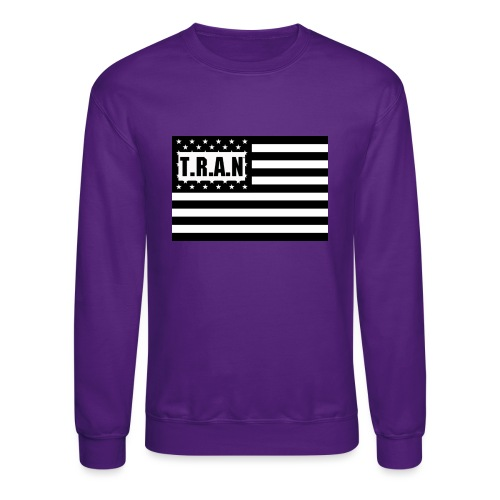 TRAN Logo jpg - Crewneck Sweatshirt