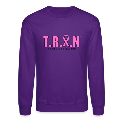 TRAN Ribbon Logo - Crewneck Sweatshirt