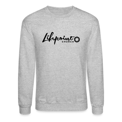 Logo Horizontal Black - Crewneck Sweatshirt