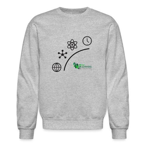 Matter Energy Space Time (Black) - Unisex Crewneck Sweatshirt