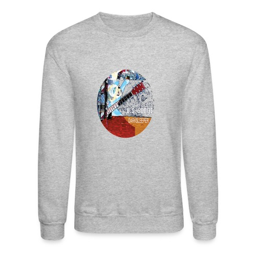 US circle 2 - Unisex Crewneck Sweatshirt