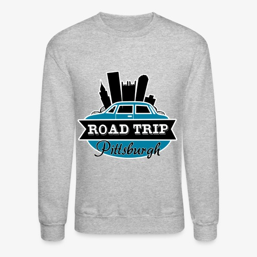road trip - Unisex Crewneck Sweatshirt