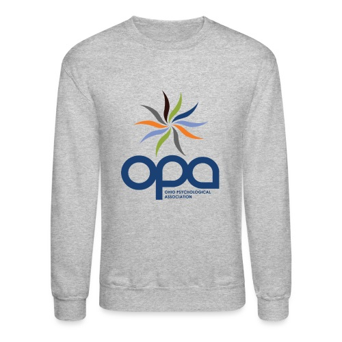 Long-sleeve t-shirt with full color OPA logo - Unisex Crewneck Sweatshirt