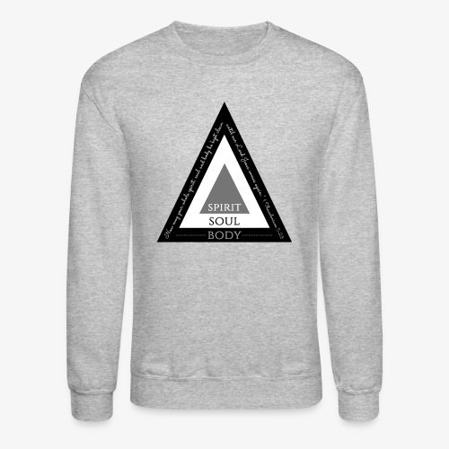Spirit Soul Body - Crewneck Sweatshirt