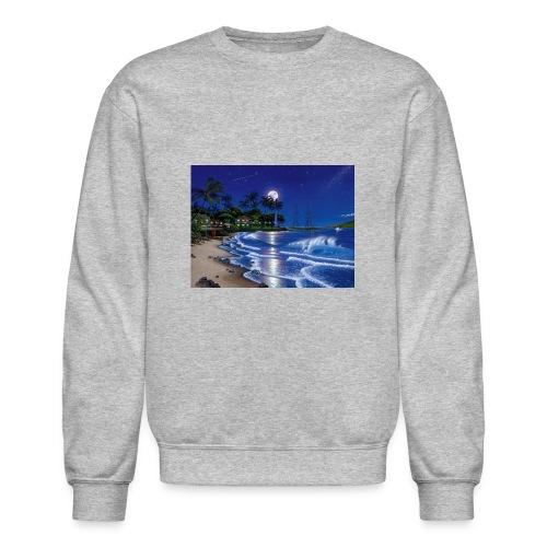 full moon - Crewneck Sweatshirt