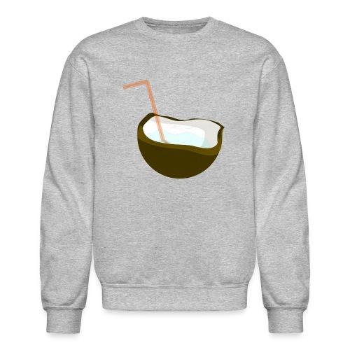 coconut water - Crewneck Sweatshirt