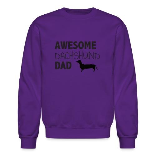 Awesome Dachshund Dad - Crewneck Sweatshirt