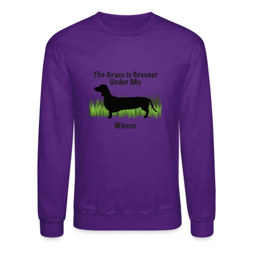 Wiener Greener Dachshund - Crewneck Sweatshirt