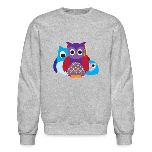 Cute Owls Eyes - Crewneck Sweatshirt