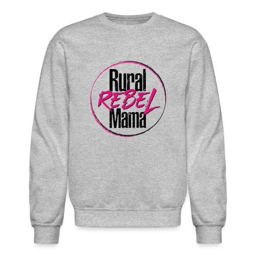 Rural Rebel Mama Logo - Crewneck Sweatshirt