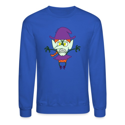 Scary Halloween Witch - Crewneck Sweatshirt