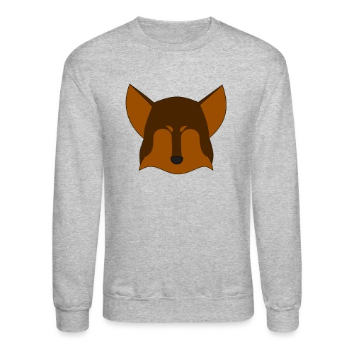 Simple Wolf Head - Crewneck Sweatshirt
