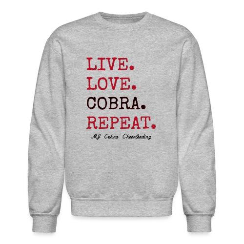 Live Love Cobra - Crewneck Sweatshirt