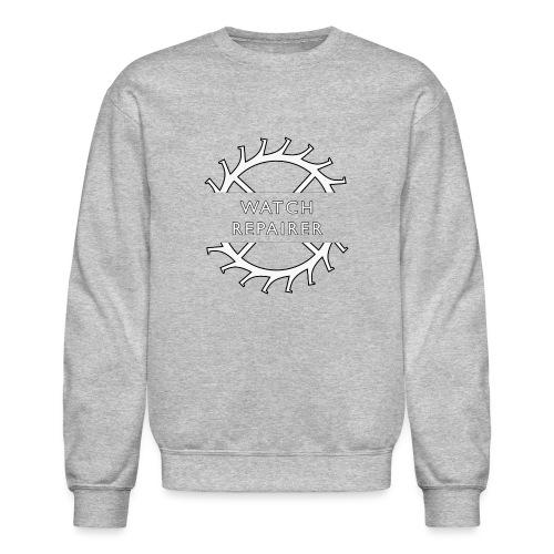 Watch Repairer Emblem - Unisex Crewneck Sweatshirt