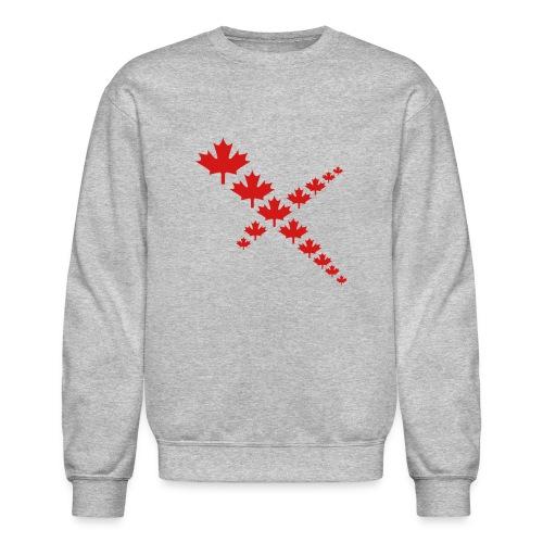 Maple Leafs Cross - Unisex Crewneck Sweatshirt