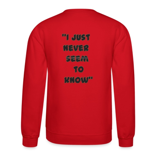 know png - Crewneck Sweatshirt