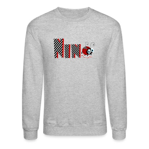 9nd Year Family Ladybug T-Shirts Gifts Daughter - Crewneck Sweatshirt