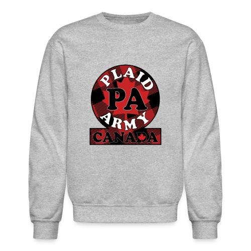 Plaid Army Canada - Crewneck Sweatshirt
